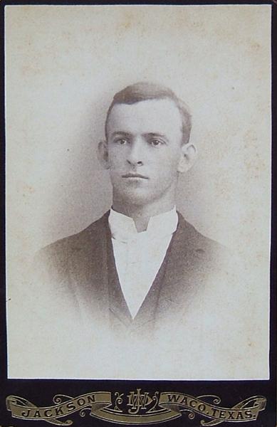 1886 photo of John Belvedere Cavitt