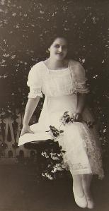 1917 portrait of Annie Marie Varnado