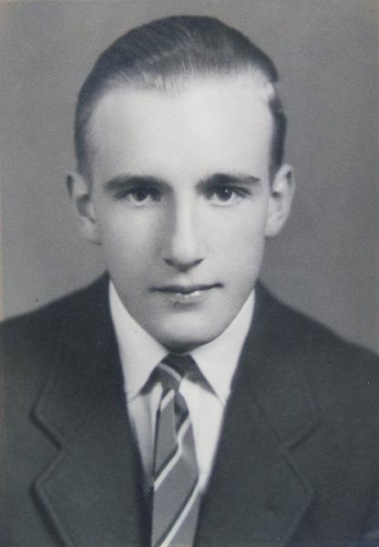 photo of John Dwight Bridge circa 1943