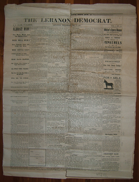 newspaper from December 17, 1891