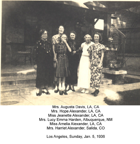 Relatives of Rufus McCormick Alexander