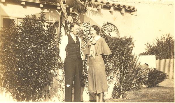 Jim and Hope Alexander in 1930's (California)