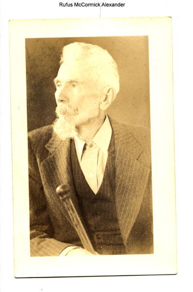 Rufus McCormick Alexander