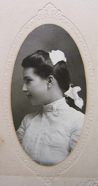 Catherine Cavitt in about 1902