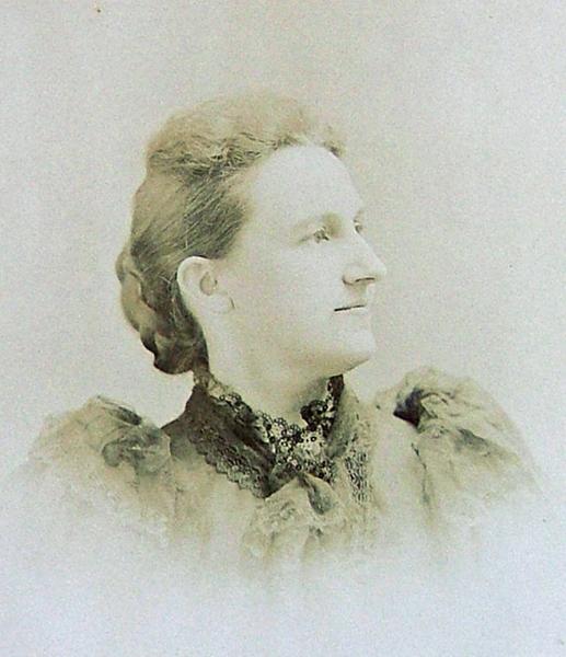 Matilda Norman Cavitt in about 1890