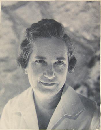 Beulah Mitchell at Rio Vista in 1942