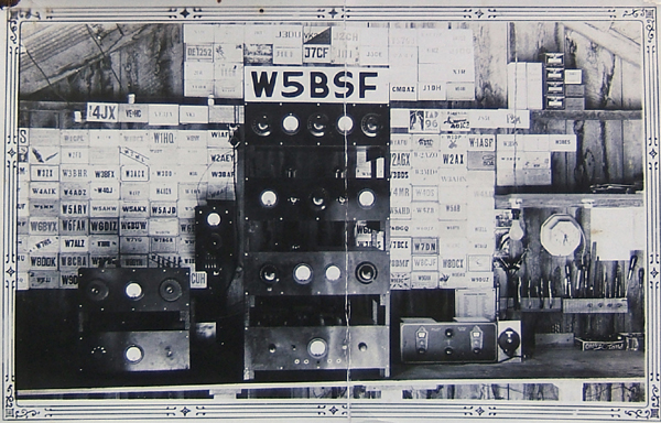 1930's ham radio set-up