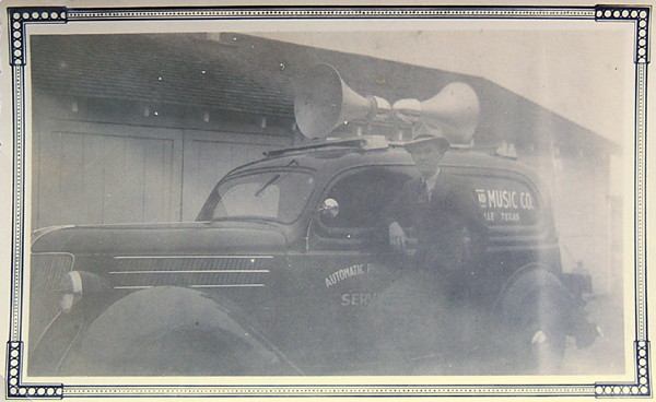 sound system on a Buick in 1933