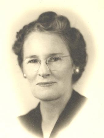 Bertha Dodgen Alexander in about 1935 or 40