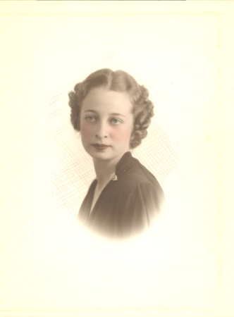 Roberta Ruth Alexander in about 1936