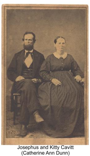 Josephus and Kitty Cavitt
