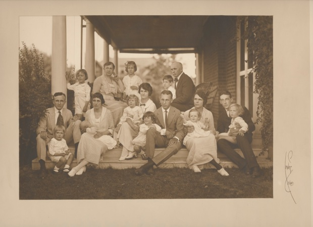 Bridge Family photo from the twenties