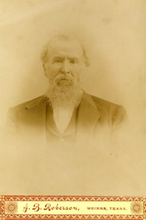 Holland Garrett, Dad's grandfather 1822-1914