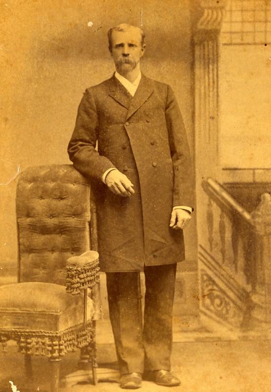 James McCord (Jim) Garrett b. about 1844
