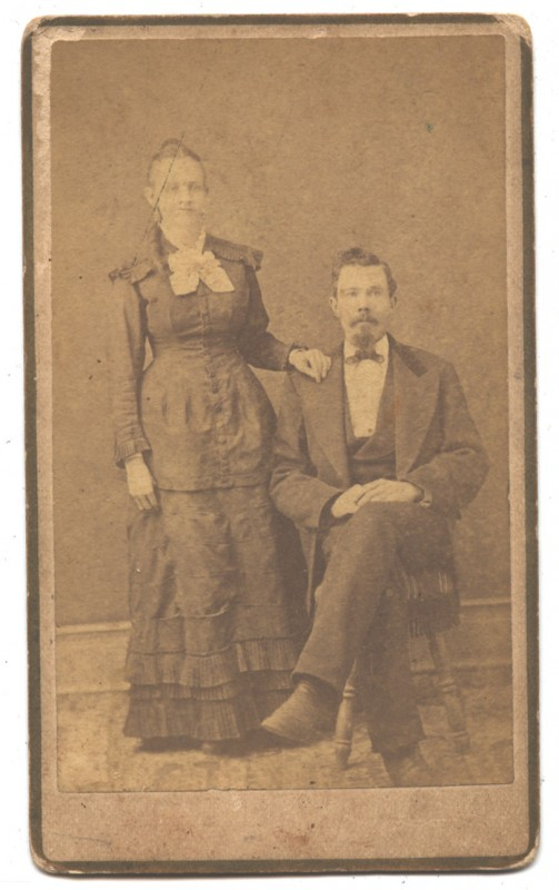 Julia Caroline Garrett Alexander and Rufus McCormick Alexander
